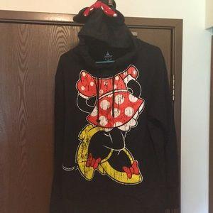 Disney Women's Minnie Mouse XL Hooded Sweatshirt